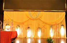 wedding backdrop material popular wedding stage decoration material buy cheap wedding stage