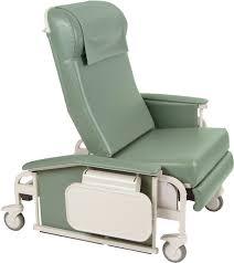 Medical Armchair Winco 6570 Drop Arm Xl Carecliner Trendelenburg Recliner Nylon