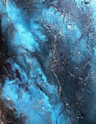 large wall art abstract painting contemporary water art aqua