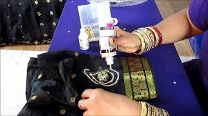 How To Decorate With Mirrors by Diy Sew Mirror On A Saree Blouse And Decorate It Youtube