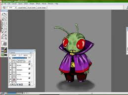 how to color drawings using corel painter 11 steps