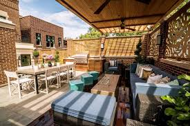 outdoor entertaining with rooftop decks sky s the limit for outdoor entertaining