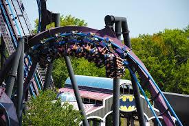 Abandoned 6 Flags Batman The Dark Knight Six Flags New England