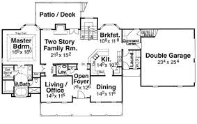 House Plans For Two Families Shenandoah 5733 4 Bedrooms And 3 Baths The House Designers