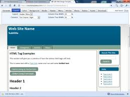 templates for asp net web pages this online web page template generator is impressive gizmo s freeware