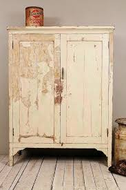 vintage distressed cream green indian industrial shabby chic