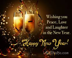 wishing you peace happy new year holidays peace