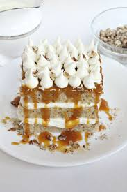 pecan tres leches cake life a little brighter