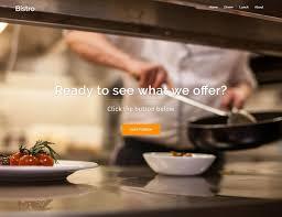 10 best free restaurant wordpress themes 2017 athemes