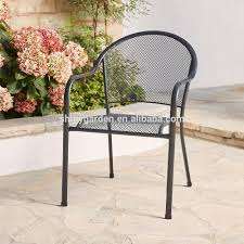 Stackable Mesh Patio Chairs by China Outdoor Bistro Chair China Outdoor Bistro Chair
