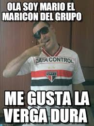 Maricon Meme - ola soy mario el maricon del grupo gay meme on memegen