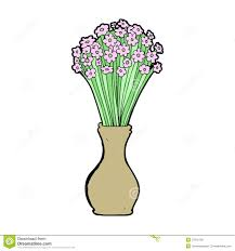 cartoon flowers in pot royalty free stock photos image 37016128