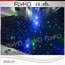 Curtain Vision Rgb Uv Star Sky Led Lights Led Star Cloth Led Vision Star Curtain