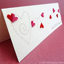 Creative Ideas To Make Greeting Cards - 50 thoughtful handmade valentines cards diy joy