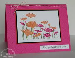 pink and coral mother u0027s day card paper and ink imaginings