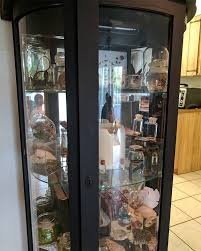 what is a curio cabinet full home living