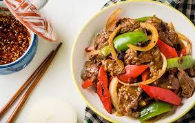 cuisine asiatique boeuf wok de bœuf à l asiatique recette légère plat et recette