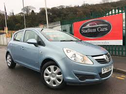 opel corsa 2002 used vauxhall corsa club blue cars for sale motors co uk