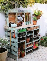 Garden Potting Bench Ideas Potting Benches Lime Garden
