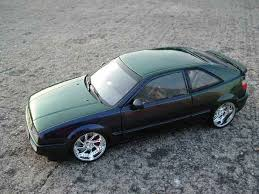 volkswagen corrado tuning volkswagen corrado vr6 green cameleon revell diecast model car 1