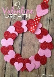 Valentine Decorating Ideas For Office by Best 25 Diy Valentines Day Wreath Ideas On Pinterest Diy