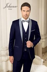 costume bleu marine mariage de cérémonie de mariage marine et gris clair gilet ton
