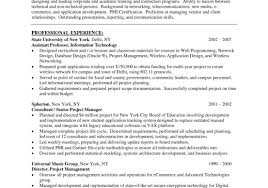 resume cool construction project manager resume get applied