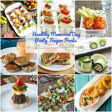 healthy gluten free memorial day party finger foods
