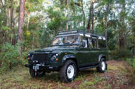 land rover overland 2017 east coast defender takes old land rover defender and restores them