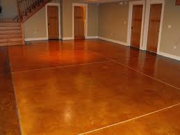 Best Tile For Basement Concrete Floor by 24 Best Finished Concrete Floor Ideas Images On Pinterest