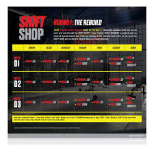 amazon com shift shop the 3 week rapid rebuild dvd workout