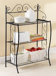 Bakers Rack Shelves Scrollwork Baker U0027s Rack Carolwrightgifts Com