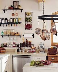 kitchen pot rack ideas kitchen enclume bookshelf pot rack enclume hammered steel pot
