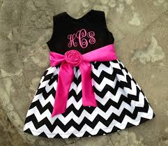 cute baby clothes personalized girls dress monogram baby