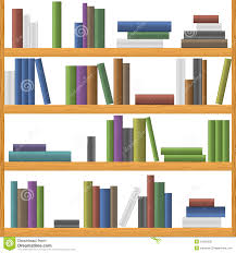 bookshelves seamless background pattern royalty free stock photo