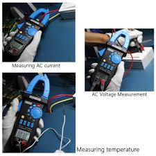 digital lcd clamp meter multimeter dc ac voltage ac current sales