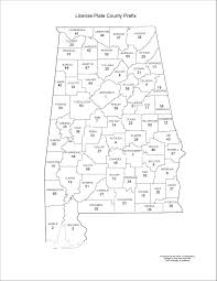 Counties In Alabama By Size Alabama Maps Transportation