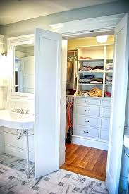bathroom closet ideas master bathroom and closet layouts small master bath closet floor
