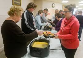 volunteers prepare deliver thanksgiving to those in need news