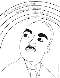 Download Coloring Pages Mlk Jr Day With Martin Luther King Page Dr Martin Luther King Jr Coloring Pages