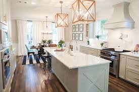 fixer upper season episode the chip house this kitchen island added extra storage enough space for their requested apron sink and appliances plus offered small eat the