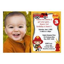 419 best fire truck birthday party invitations images on pinterest