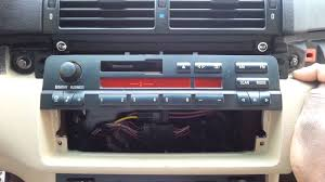 bmw e46 stereo tape deck head unit radio 1999 01 bmw 323ci 325ci