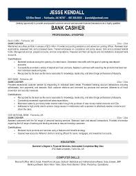 Sample Bank Resume by Cashier Resume Samples Ilivearticles Info