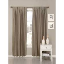 Pinch Pleated Lined Drapes Pinch Pleated Drapes For Traverse Rods Wayfair