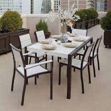 Where To Buy Outdoor Furniture Furniture Polywood 5 Piece Monterey Bay Dining Set By Trex