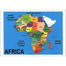 Niger Africa Map by Map Of Africa Map Of Africa Chart Depicta Charts