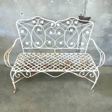 Vintage Wrought Iron Patio Furniture For Sale by Wrought Iron Garden Bench Ireland Wrought Iron Garden Bench