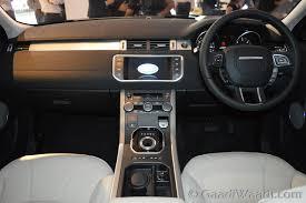 Evoque Interior Photos Range Rover Interior Photos India Land Rover Range Evoque