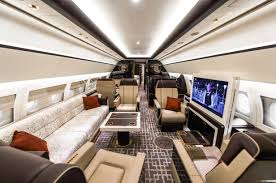 Luxury Private Jets Train On The Inside Private Jet On The Outside